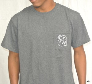 Image of Aztec pocket tee (grey)