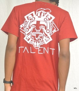 Image of Aztec pocket tee (Maroon)