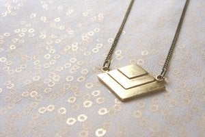 Image of Sweet Geometry mod.D Colgante / Necklace