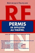 Image of Permis de siffloter au thtre.