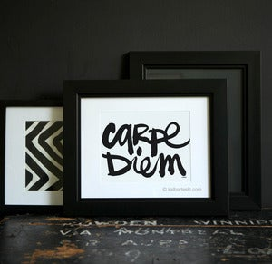 Image of CARPE DIEM print