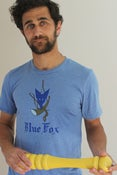 Image of Blue Fox Vintage Menu T-Shirt: Men's