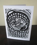 Image of 'Fish Basket' card