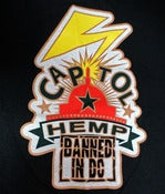 "Image of Capitol Hemp ""Banned in DC"" T-shirt"