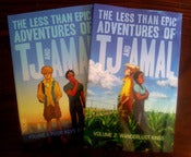 Image of TJ & Amal Volumes 1 & 2 Graphic Novel Bundle