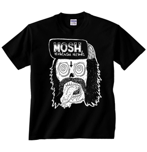 Image of Moshtache Records 'Skull Dude' T-shirt