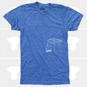 Image of Chairlift T-Shirt Blue - Men