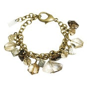 Image of stalactite bracelet with pyrite