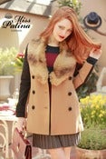 Image of Double Take Winter Coat (camel)