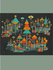 Image of A Place For My Eyes Print by Jolby