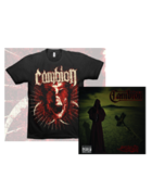 Image of LAST RITES T SHIRT AND CD PACKAGE DEAL!