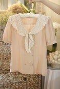 Image of Sailing Sally blouse (pale pink)