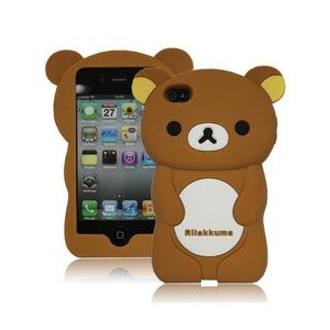 Image of Coque Rilakkuma 3D iPhone 4 et 4S
