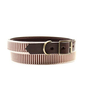 Image of Henley Stripe Collar