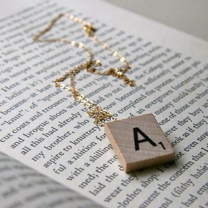 Image of Scrabble Necklace