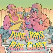 "Image of Dude Jams / Pure Graft - Split 7"" (Clear Vinyl)"