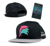 Image of NEW! Pink Dolphin Dive Snapback Hat Collection