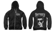Image of Black Hulmerist zip up hoodie