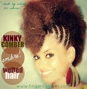 Image of Kinky Comber OMBRE Wefted Hair-BACK IN STOCK