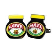 Image of MARMITE CUFFLINKS