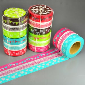 Image of Bunting Washi Tape