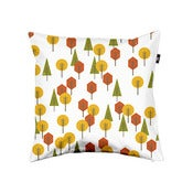 Image of Geometric Woods - Pillow