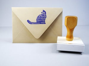 Image of Custom Pet Return Address Stamp