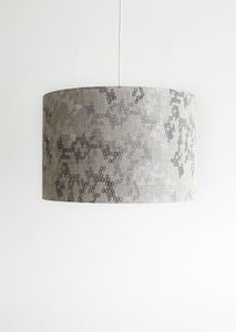 Image of hive steel gunmetal and white shade