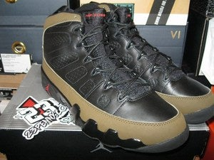 "Image of Air Jordan IX (9) Retro ""Olive"" 2002 *SOLD OUT*"
