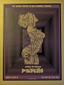 Image of Psycho (Purple) Silkscreen Poster