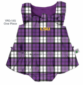Image of LSU Tigers Campus Plaid Dress