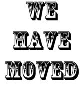 Image of We Have Moved.