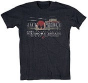 Image of Asheville Destination Shirt- Men's/Unisex Midnight Navy