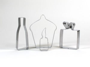 Image of Celebrate Cookie Cutter Set