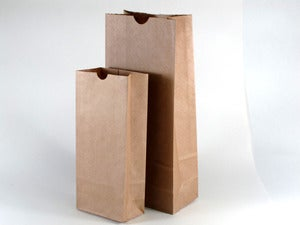 Image of Kraft Paper Bags With Gussets