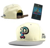 "Image of NEW! Pink Dolphin ""Big P"" Waves Strapback Hat Collection"