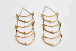 Image of Battle Bones Earrings
