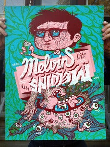 Image of Melvins Lite - Screenprinted Poster