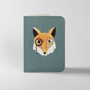 Image of 5 Fergus the Fox Greeting Cards