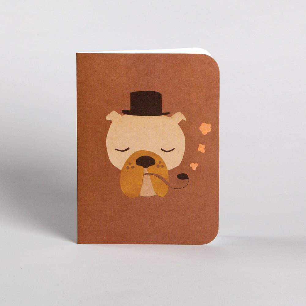 Image of 5 Papa Pooch Greeting Card