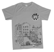 Image of There Goes The Neighborhood Tour Official T-Shirt (Grey) *LIMITED*
