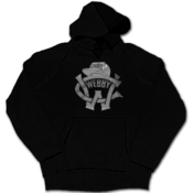 Image of 'CW' Logo Hoodie (Black)