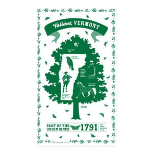 Image of Vermont State Towel