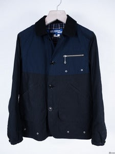 Image of Junya Watanabe MAN - Two-Tone Waxed Hunt Coat