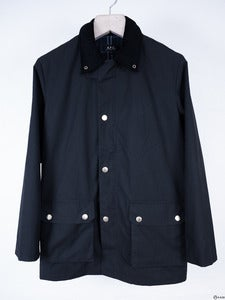 Image of A.P.C. - Waxed Cotton Jacket
