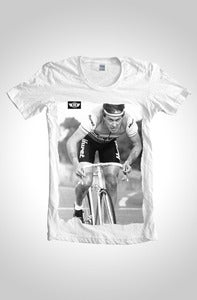 Image of The Eighties Classic Cycling T-Shirt White