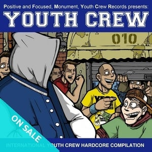 Image of Youth Crew 010 compilation 7""