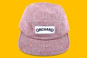 Image of Orchard Brand Rusty Tweed Text Logo 5 Panel