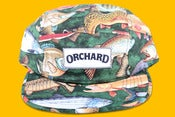 Image of Orchard Brand  Off The Hook Green Text Logo 5 Panel