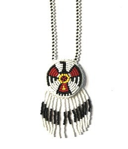 Image of Vintage Navajo Beaded Necklace (v7)